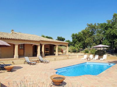 Photo for 3 bedroom Villa, sleeps 7 in Emponse with Pool, Air Con and WiFi