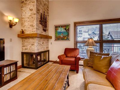 Photo for Pristine Vail Mountain Views, One Bedroom + Loft Sleeps 9 People, Hot Tub, Pool