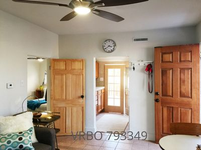 Photo for Private Mid Mod Cottage, pet friendly, near city center, parks, hospitals