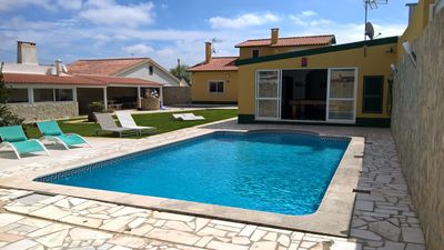 Photo for quiet and family house of 260m² with private pool and heated