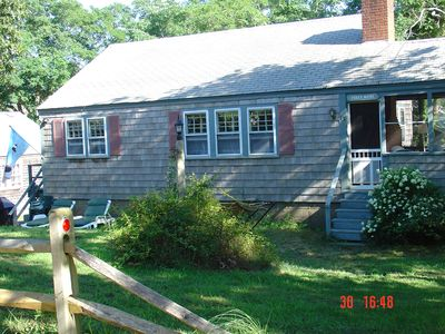 Photo for Easy, comfortable,  vacation living in North Eastham a few steps from beach