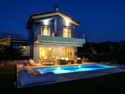 Photo for Dimitra's Blue Villa is located close to the b... - Four Bedroom Villa, Sleeps 8