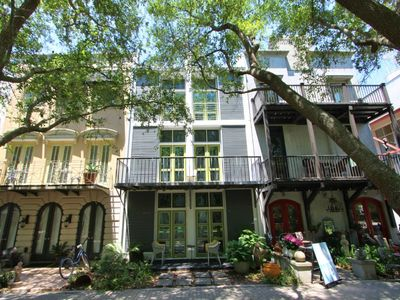 Photo for Forsythe House, Heart of Seaside on Ruskin Park, Pet Friendly,Gulf Views