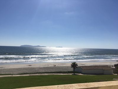 Photo for Playa Blanca Beach Front Condo - Rosarito Beach