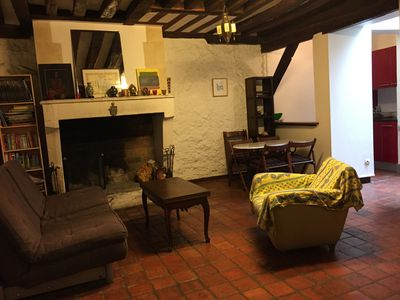 Photo for Charminf flat with a big fireplace in the Quartier Latin Paris 5