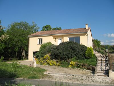 Photo for New country house overlooking a small village at the edge of the Dordogne