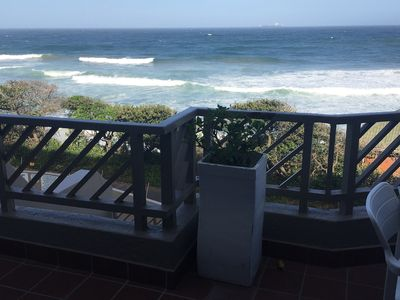 Photo for Spacious 2-bed Self-catering apartment on the beach in sunny Umdloti Beach