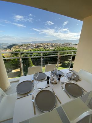 Photo for Two Bedroom privately owned apartment with balcony on a 12 swimming pool complex