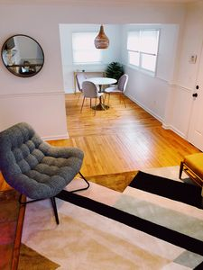 Photo for Cozy Bungalow w fire-pit + parking in the heart of East Atlanta Village!
