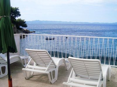 Photo for One bedroom apartment near beach Cove Skozanje (Hvar) (A-4624-c)