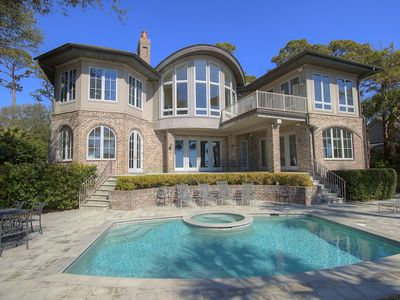 31 S. Beach Lagoon - Oceanfront Luxury Home in Sea Pines w/ Private Pool & Spa
