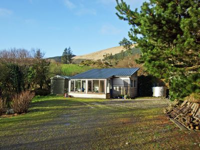 Photo for Timber cabin tucked away in quiet secluded location on the slopes of the Slieve Miskish Mounta…