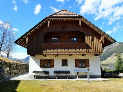 Photo for Detached chalet directly by the ski slope; ski in, ski out!