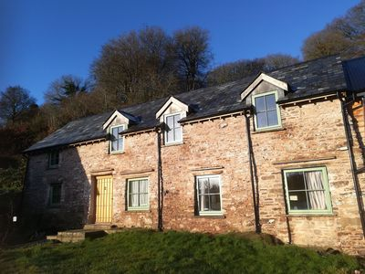 Photo for Luxury 3-bed Eco-farmhouse retreat in the heart of the Black Mountains