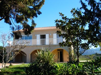 Photo for VILLA OF CHARACTER WITH POOL - 10 minutes drive from the center of Calvi