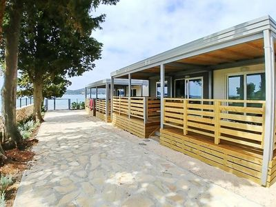 Photo for Mobile Homes Mediteran Kamp Ljutic, Biograd  in Norddalmatien - 4 persons, 2 bedrooms