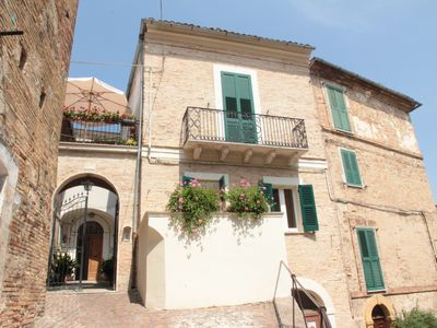 Photo for Historical centre of Penne, lively Abruzzo hill town near mountains and beaches