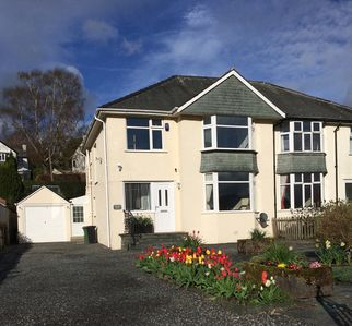 Photo for Comfortable semi on the edge of Keswick overlooking fields and Castlehead woods