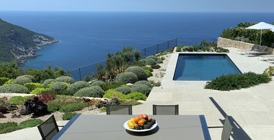 Photo for STUNNING DESIGNER VILLA *NEW POOL 2020*   SEA/MOUNTAIN SUNSETS
