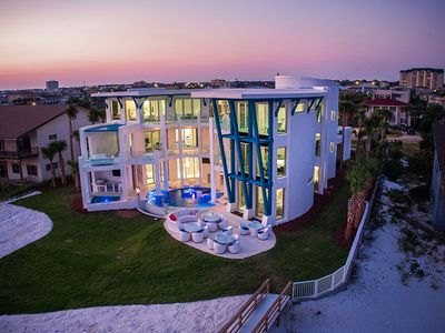 Photo for Destin Jewel! Most Magnificent Home on the Coast! Theater, Pool, Hot Tub, Volleyball!