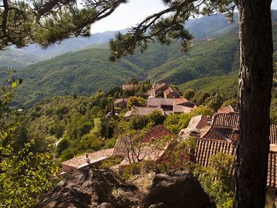 Photo for Great Old Bastide with breathtaking views in perched Cevennes Hamlet. A Haven. Tastefully decorated, rivers,walk