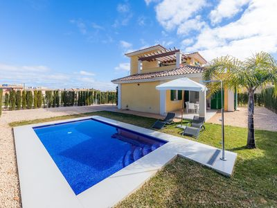 Photo for Modern Finca with Pool - Finca Isabel