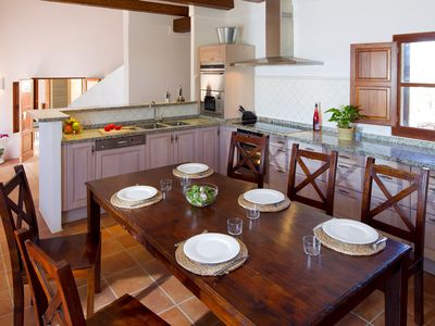 Photo for Recently built villa in Sant Francest with bbq&outside areaCNV5