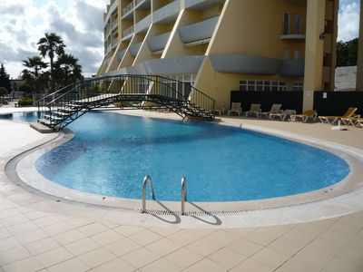Photo for Condominio do Mar - Lagos 5 Minutes walk to the Beach - T1 with 2 Pools