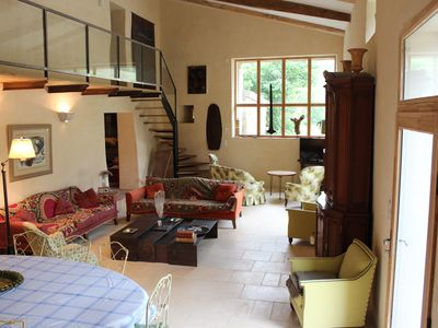 Photo for Traditional Mas in Provence, fully renovated, private pool, Mont Ventoux (8 pax)