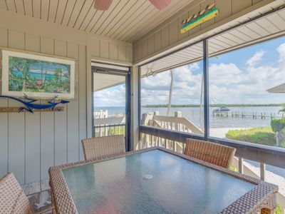 Photo for Bayfront Beauty ! Three Bedroom Captiva Townhome With Stunning Views !