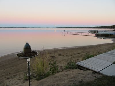 Cute 3 Bedroom Cottage on all sports Lake Missaukee waiting for your family!