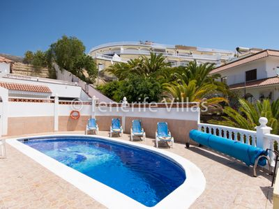 Photo for Beautiful 2 Bedroom Villa. Las Americas. Central Location. Private Heated Pool.