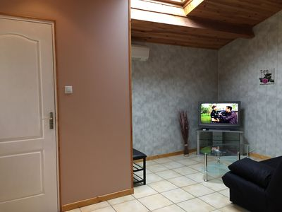 Photo for Furnished Tourist 3 * with covered private parking and garden and Spa