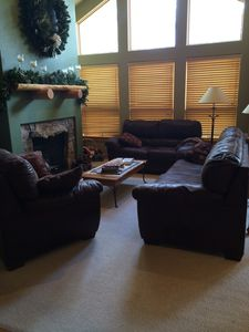 Photo for Warm, cozy home close to 7 ski resorts!  Private hot tub and theater system.