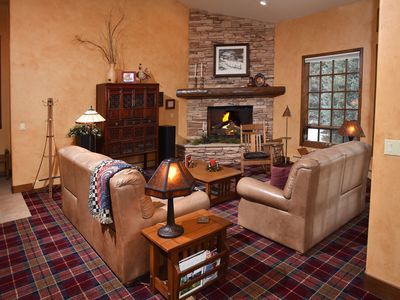 Photo for Large Creekside Home w/ Pool Table & Entertainment, Free Shuttle 1 mile to Slope