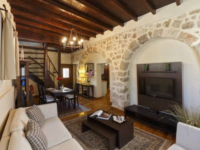 Photo for Medieval & Chic Villa, Old Town, Rhodes