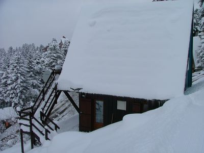 Photo for chalet - Guzet-Neige.Panoramic view into two linked flats