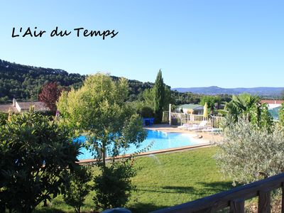 Photo for In South Luberon Rental in family site