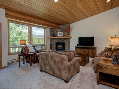 Photo for 25% OFF Ski Rentals! Big Sky Town Center- Townhome w/ MILES of Views