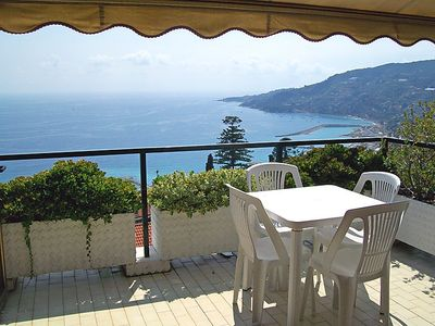 Photo for Ospedaletti Apartment, Sleeps 2 with Pool