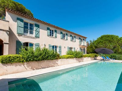 Photo for Magnificent property near Grimaud-village with breathtaking views