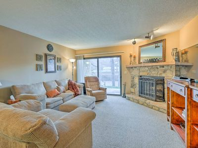 Photo for Cozy Riverfront Townsend Condo Near Caverns & Town
