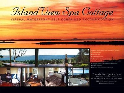 Photo for Island View Spa Cottage