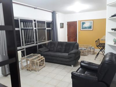 Photo for 200 meters from the beach, excellent apartment, family neighborhood