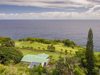 Photo for Ocean Bluff Home on the Hamakua Coast ~ Great for Families!