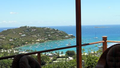 Photo for Villa, near town, Panorama Views, 2 equal Master Suites, Ideal for 2 couples.