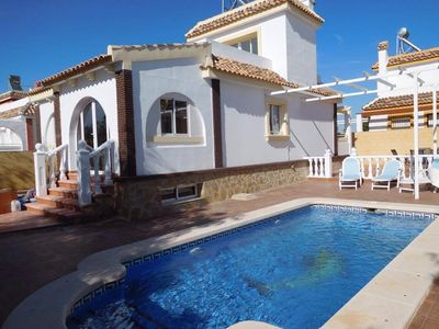 Photo for Mar Menor Villa with private pool located on Sierra Golf resort, sleeps 8-12
