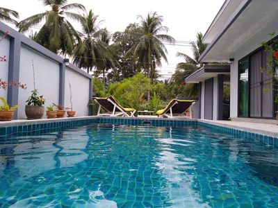 Photo for Beautiful 3 bedroom villa, pool with jacuzzi