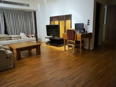 Photo for Big 1Br 70sqm Bkk Central Unit W/ Wifi, Pool, Gym And Kids Play Area
