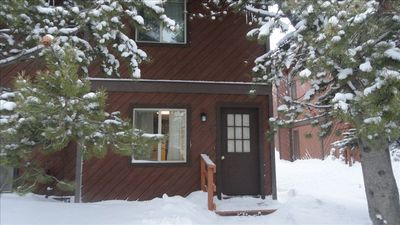 West Yellowstone/Intown Condo.   Snowmobiling directly from front door. Hiking
